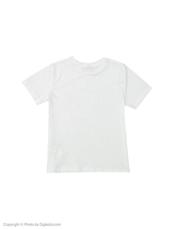 تی شرت پسرانه ال سی وایکیکی مدل 9SV663F4-K7U
