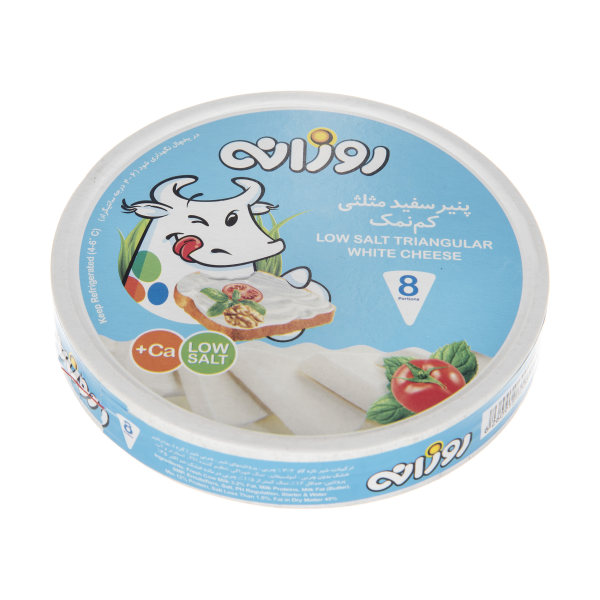 پنیر سفید مثلثی روزانه وزن 120 گرم