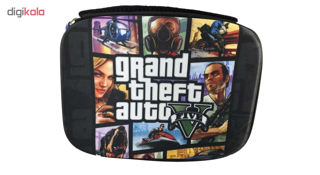 کیف دسته بازی پلی استیشن طرح GTA