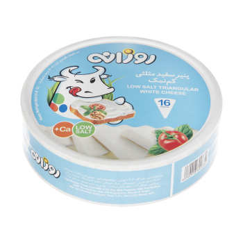 پنیر سفید مثلثی روزانه وزن 240 گرم