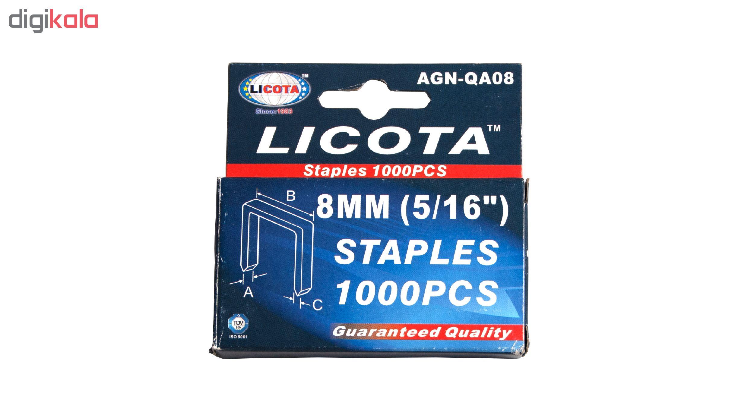 سوزن منگنه لیکوتا مدل AGN-QA08 سایز 8 میلی متر بسته 1000 عددی