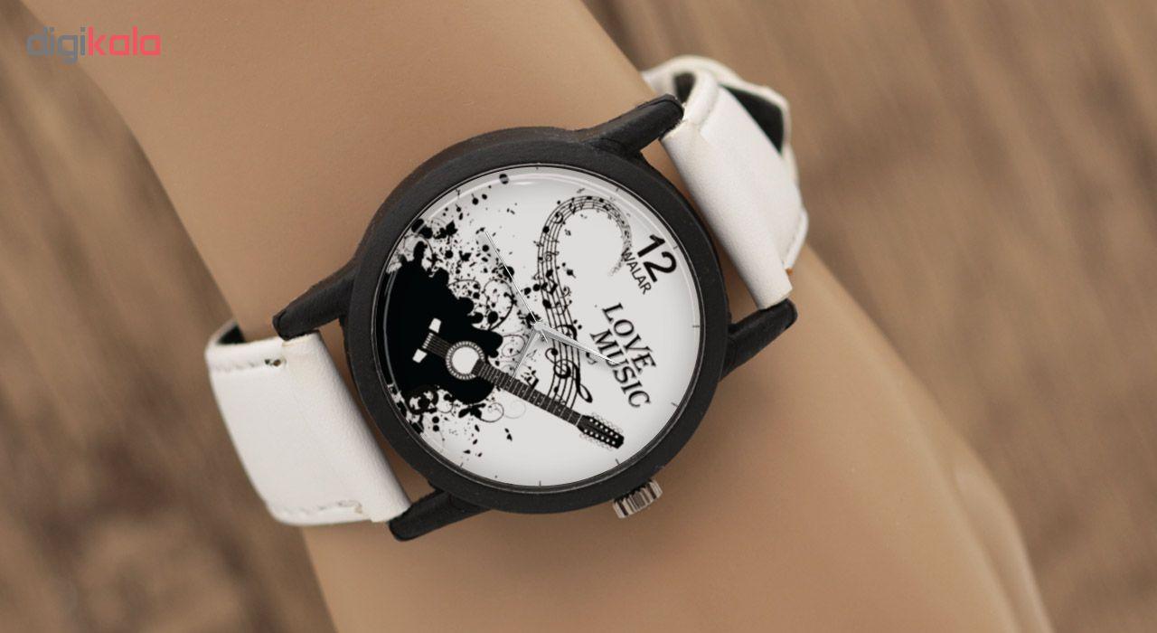 ساعت مچی عقربه ای والار طرح Love Music مدل LF1454