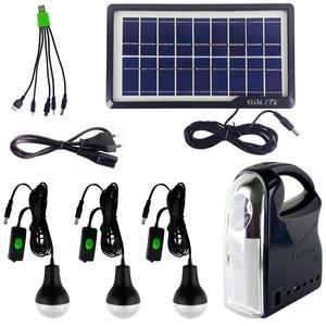 سیستم روشنایی خورشیدی جی دی لایت مدل GD7