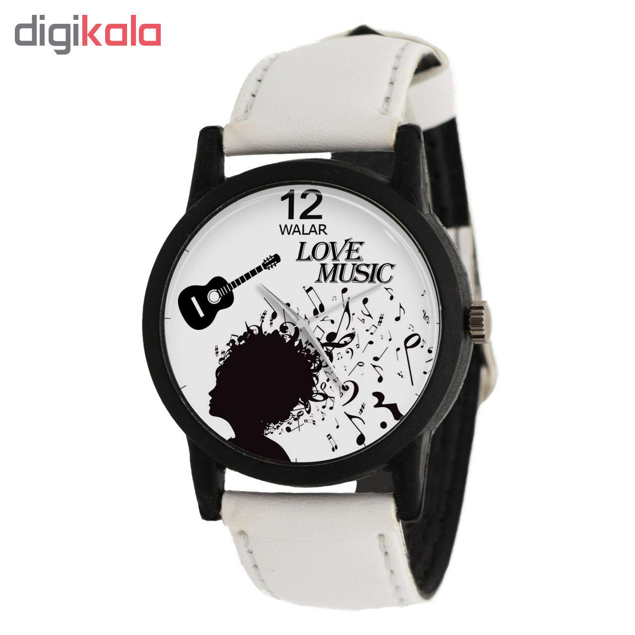 ساعت مچی عقربه ای والار طرح موسیقی مدل LF1456              ارزان