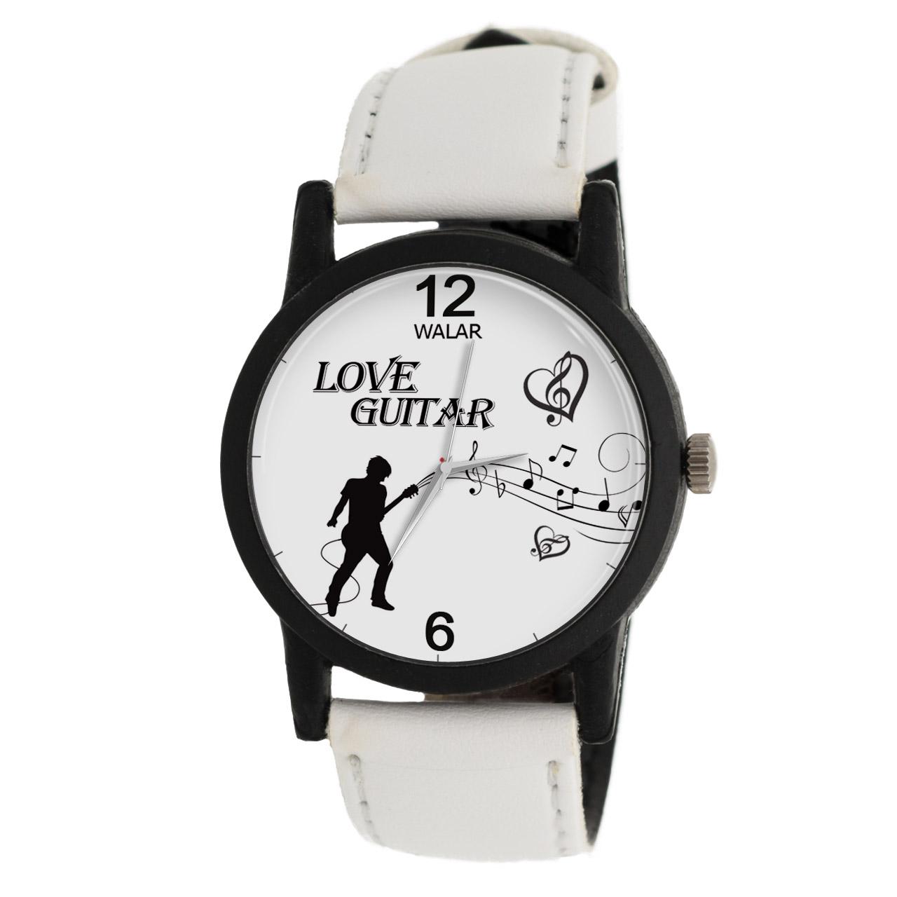 ساعت مچی عقربه ای والار طرح Love Guitar مدل LF1457