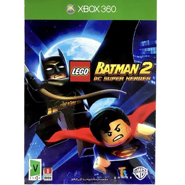 بازی lego batman 2 dc super heroes مخصوص xbox360
