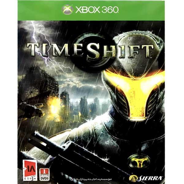بازی time shift مخصوص xbox360