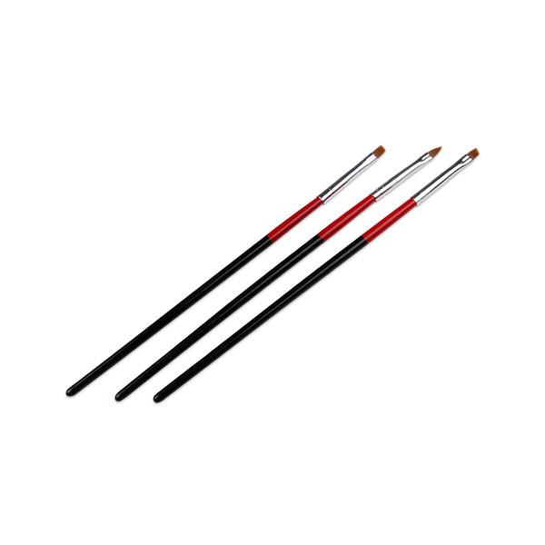 قلم موی طراحی ناخن کد NDB02 بسته 3 عددی