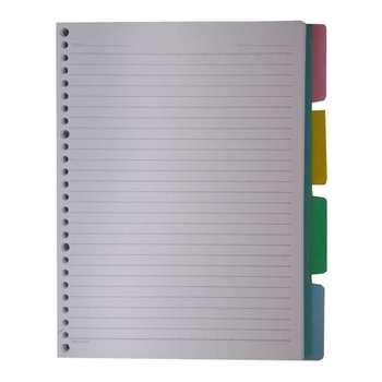 کاغذ کلاسور کد 115 بسته 100 عددی
