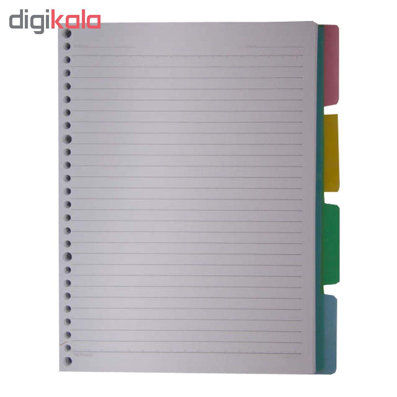 کاغذ کلاسور کد 115 بسته 100 عددی main 1 2