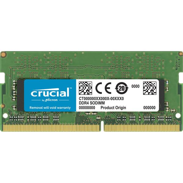 رم لپ تاپ DDR4 تک کاناله 2666 مگاهرتز CL19 کروشیال مدل CT8G4SFS8266 ظرفیت 8 گیگابایت