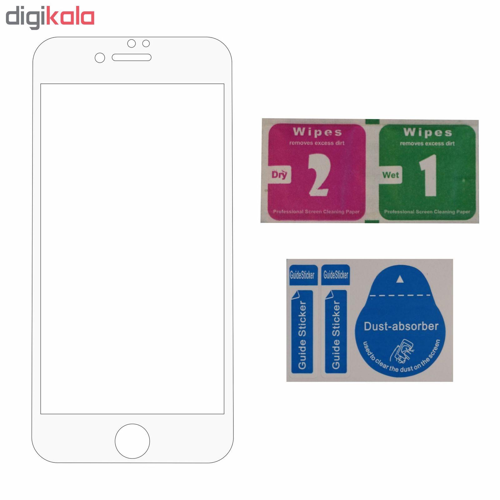 محافظ صفحه نمایش 5D مدل iPG8P01 مناسب  برای گوشی موبایل اپل IPhone 7 plus/8 plus  main 1 5