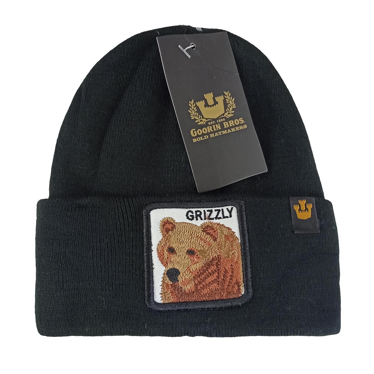 کلاه بافتنی گورین براز مدل grizzly