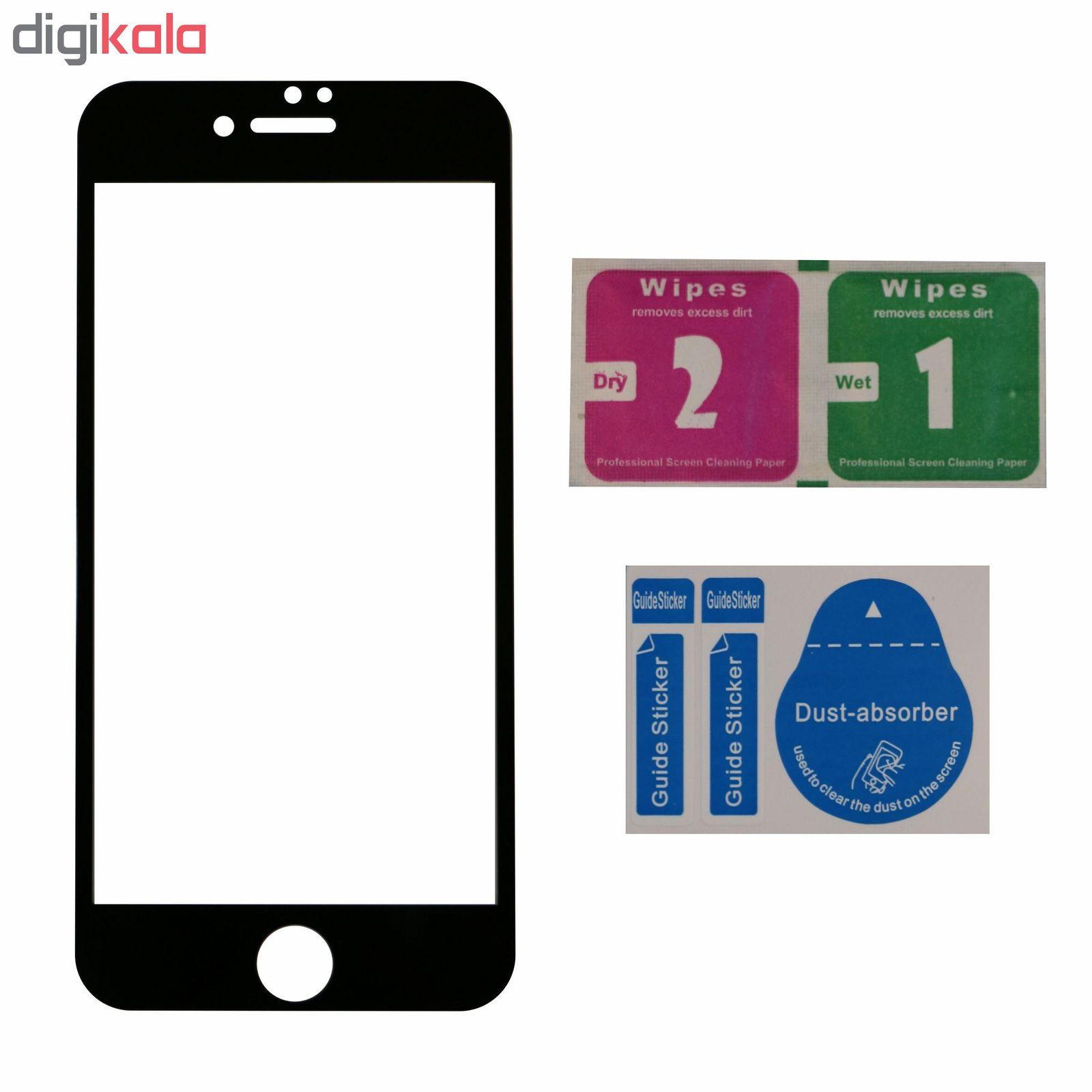 محافظ صفحه نمایش 5D مدل iPG8P01 مناسب  برای گوشی موبایل اپل IPhone 7 plus/8 plus  main 1 4