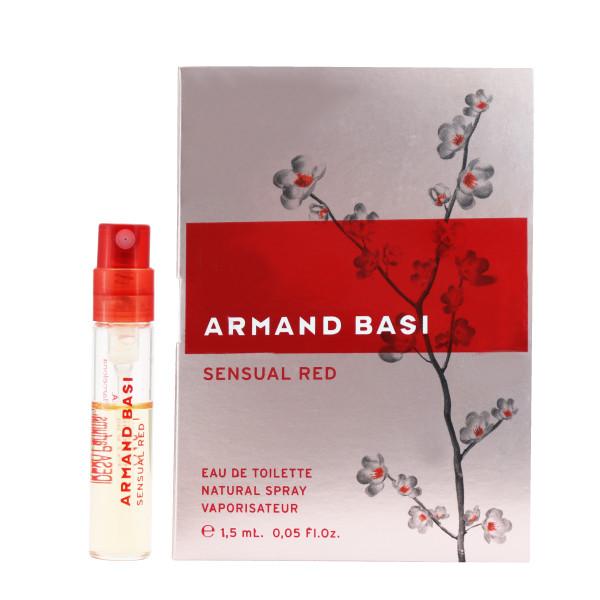 عطر جیبی زنانه آرماند باسی مدل Sensual Red  حجم 1.5 میلی لیتر