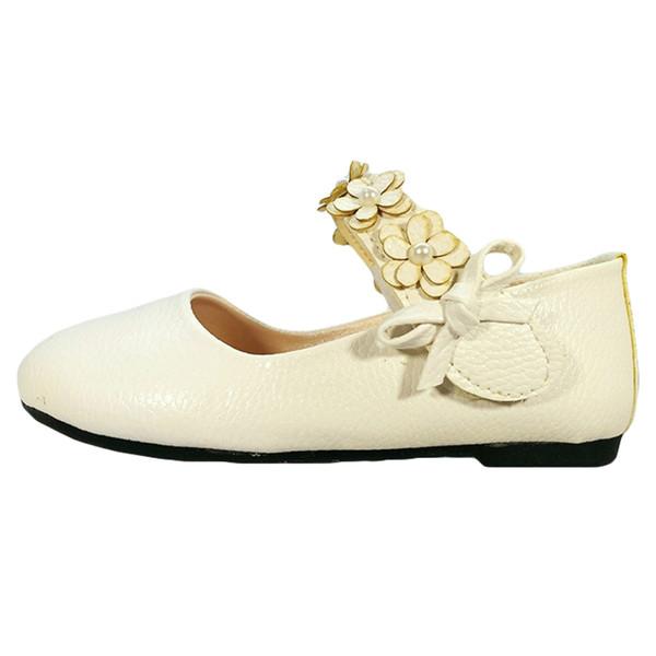 کفش دخترانه مدل FLOWER_WHDM13