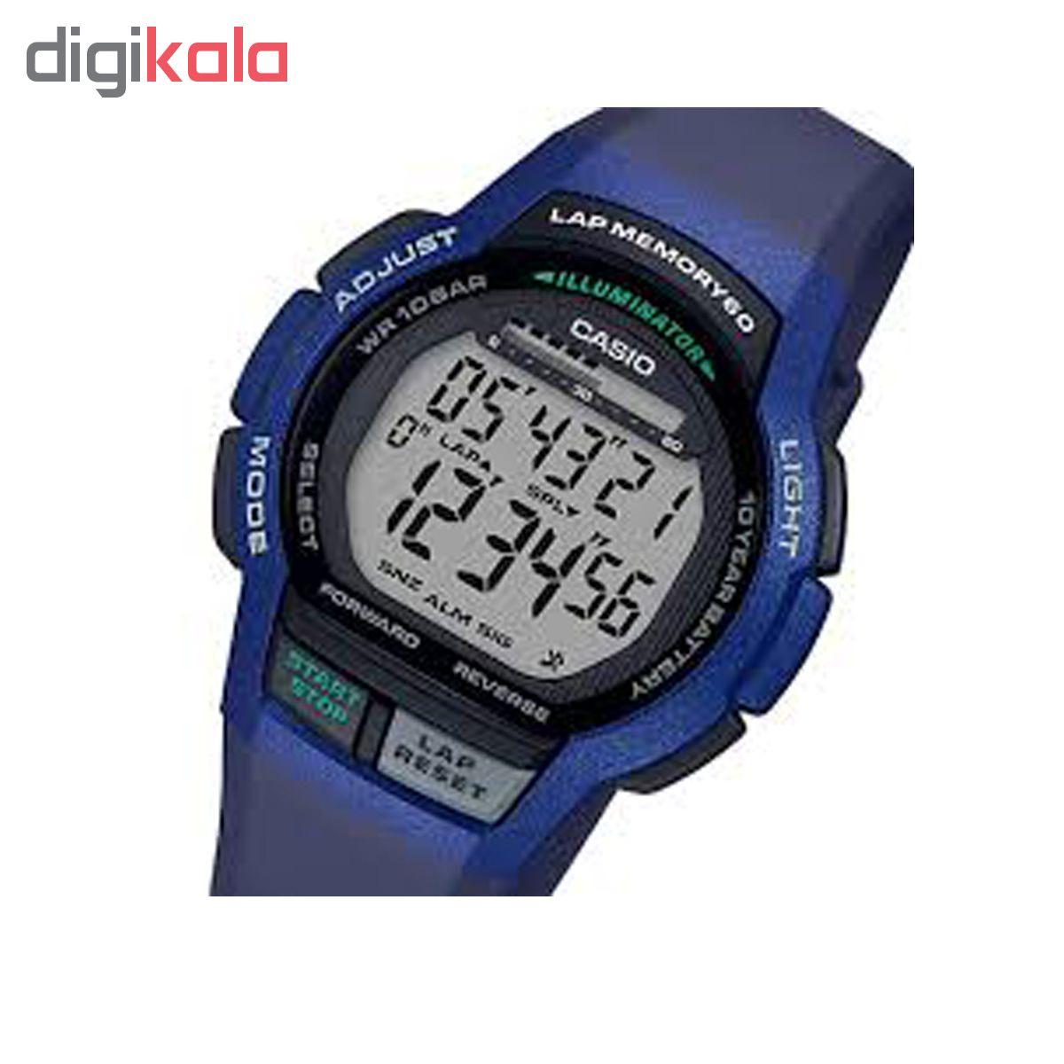 ساعت مچی دیجیتال کاسیو مدل WS-2000H-2AVDF