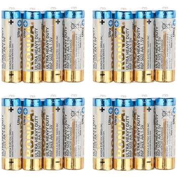 باتری قلمی روندا مدل Ultra Heavy Duty بسته 16 عددی