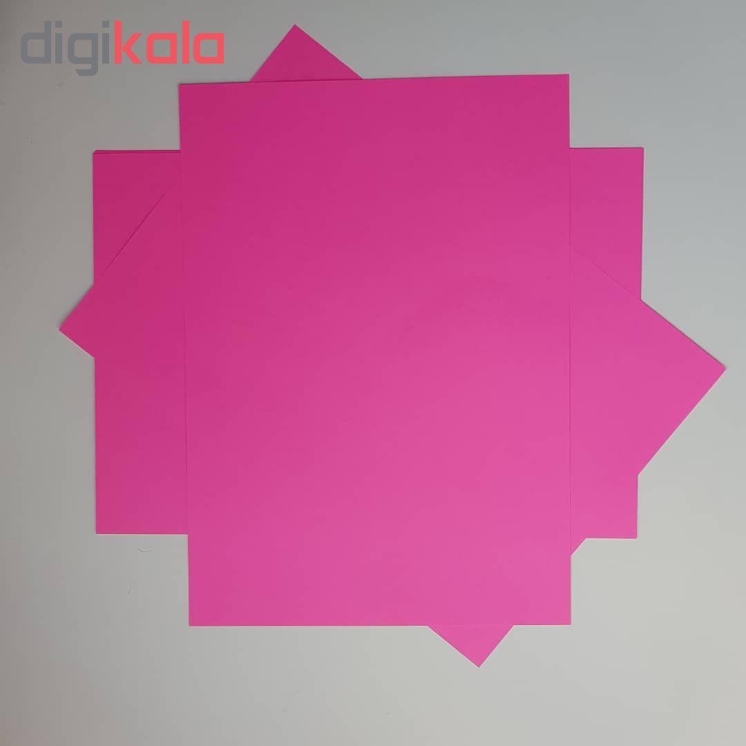 کاغذ رنگی A4 مدل رنگین کمان کد X10 بسته 100 عددی main 1 4