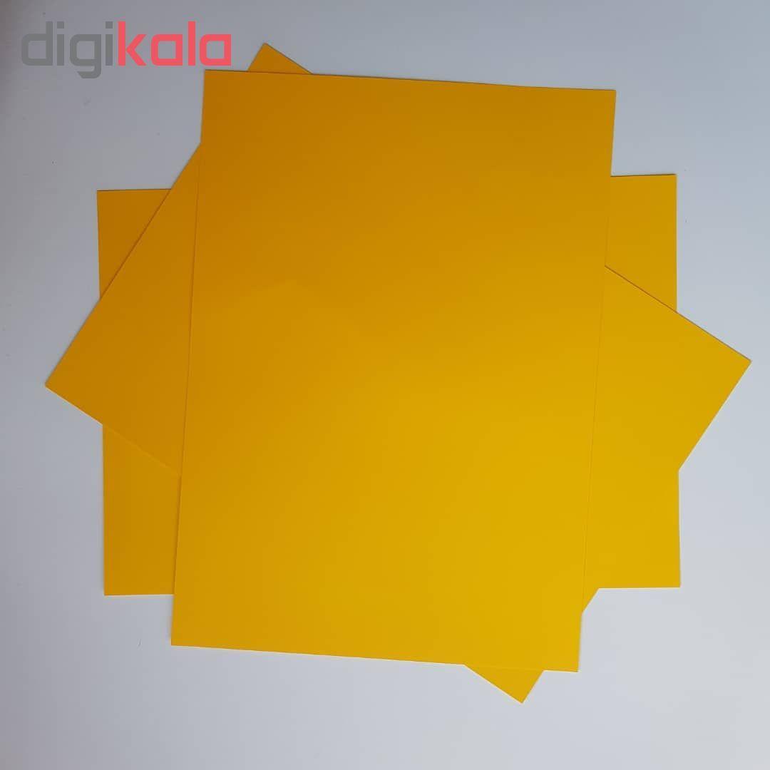 کاغذ رنگی A4 مدل رنگین کمان کد X10 بسته 100 عددی main 1 5