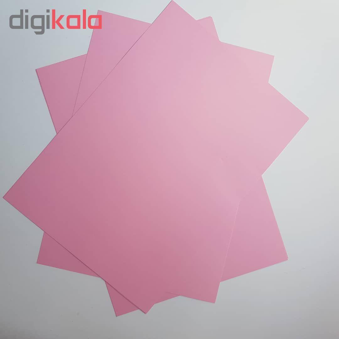 کاغذ رنگی A4 مدل رنگین کمان کد X10 بسته 100 عددی main 1 6