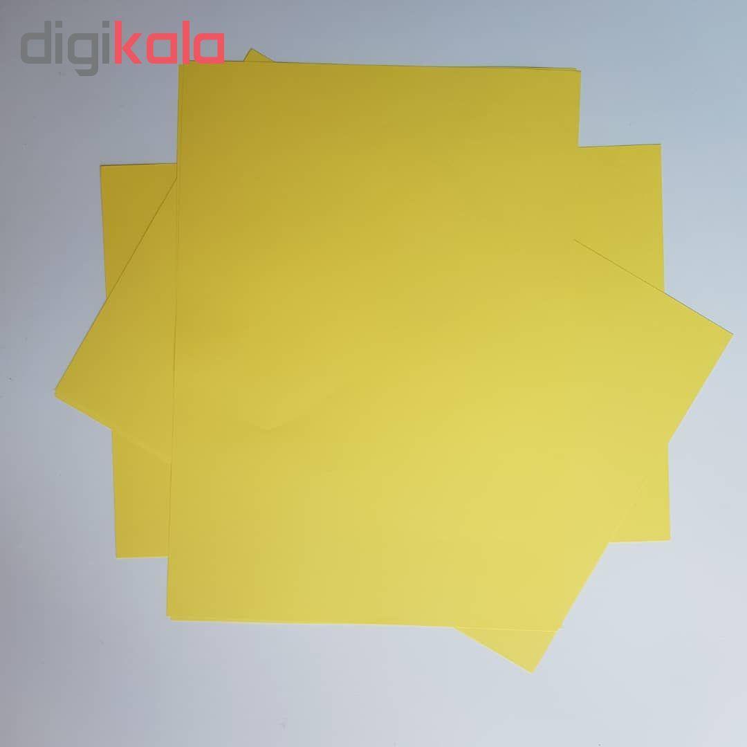 کاغذ رنگی A4 مدل رنگین کمان کد X10 بسته 100 عددی main 1 7