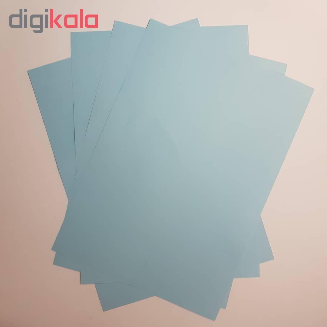 کاغذ رنگی A4 مدل رنگین کمان کد X10 بسته 100 عددی main 1 8