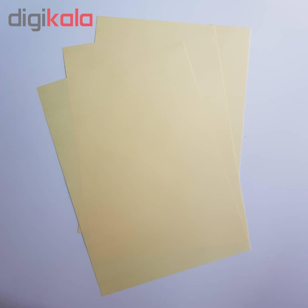 کاغذ رنگی A4 مدل رنگین کمان کد X10 بسته 100 عددی main 1 9