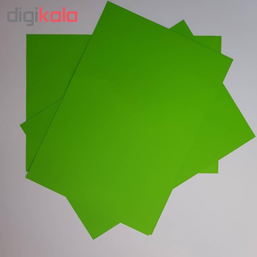 کاغذ رنگی A4 مدل رنگین کمان کد X10 بسته 100 عددی main 1 10