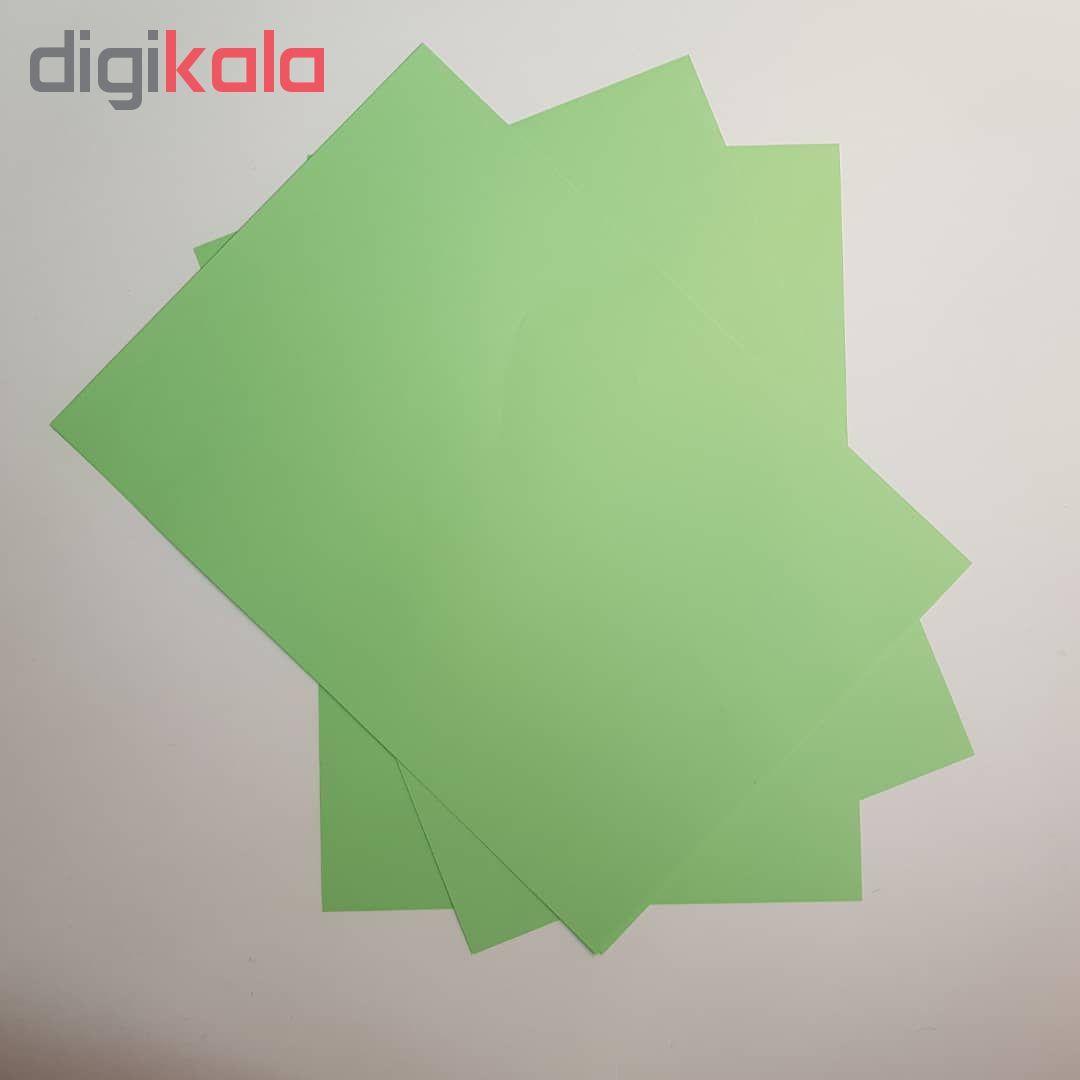 کاغذ رنگی A4 مدل رنگین کمان کد X10 بسته 100 عددی main 1 11