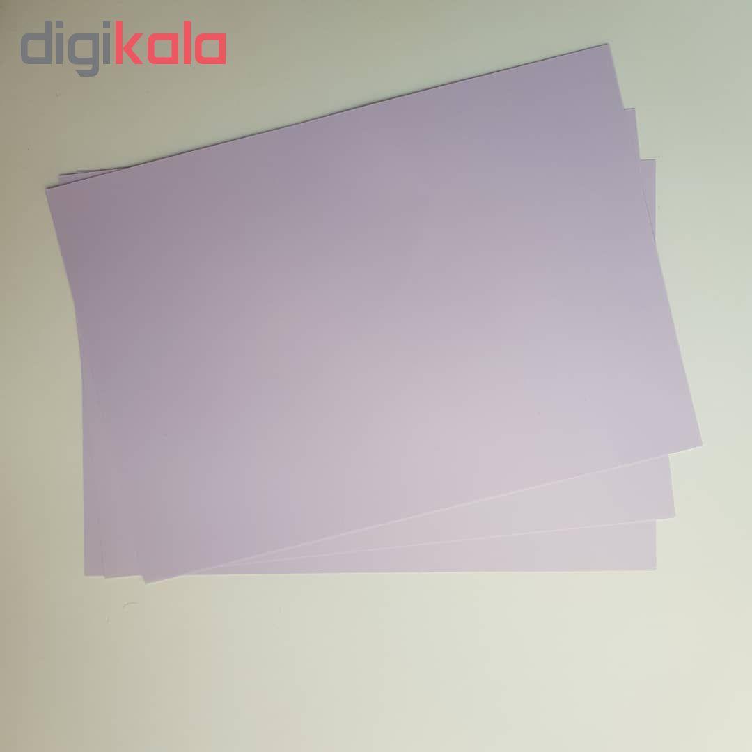 کاغذ رنگی A4 مدل رنگین کمان کد X10 بسته 100 عددی main 1 12