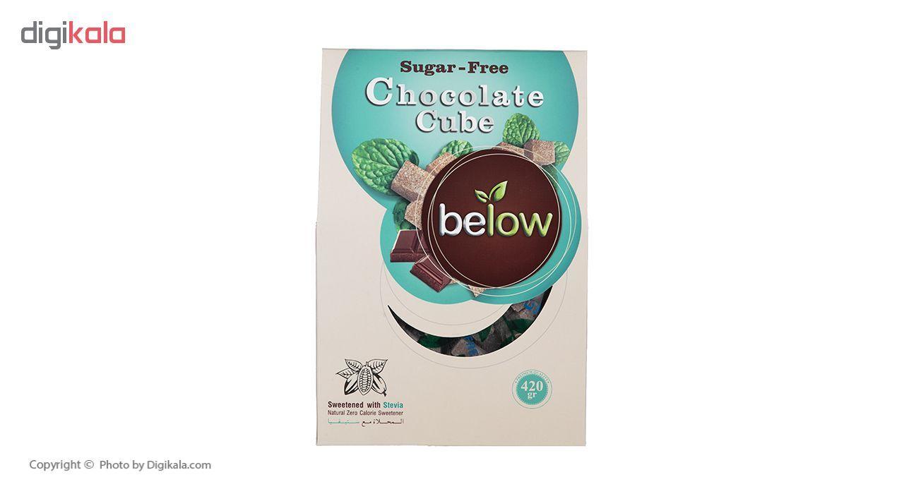 حبه بدون شکر با طعم شکلات بلو وزن 420 گرم main 1 4