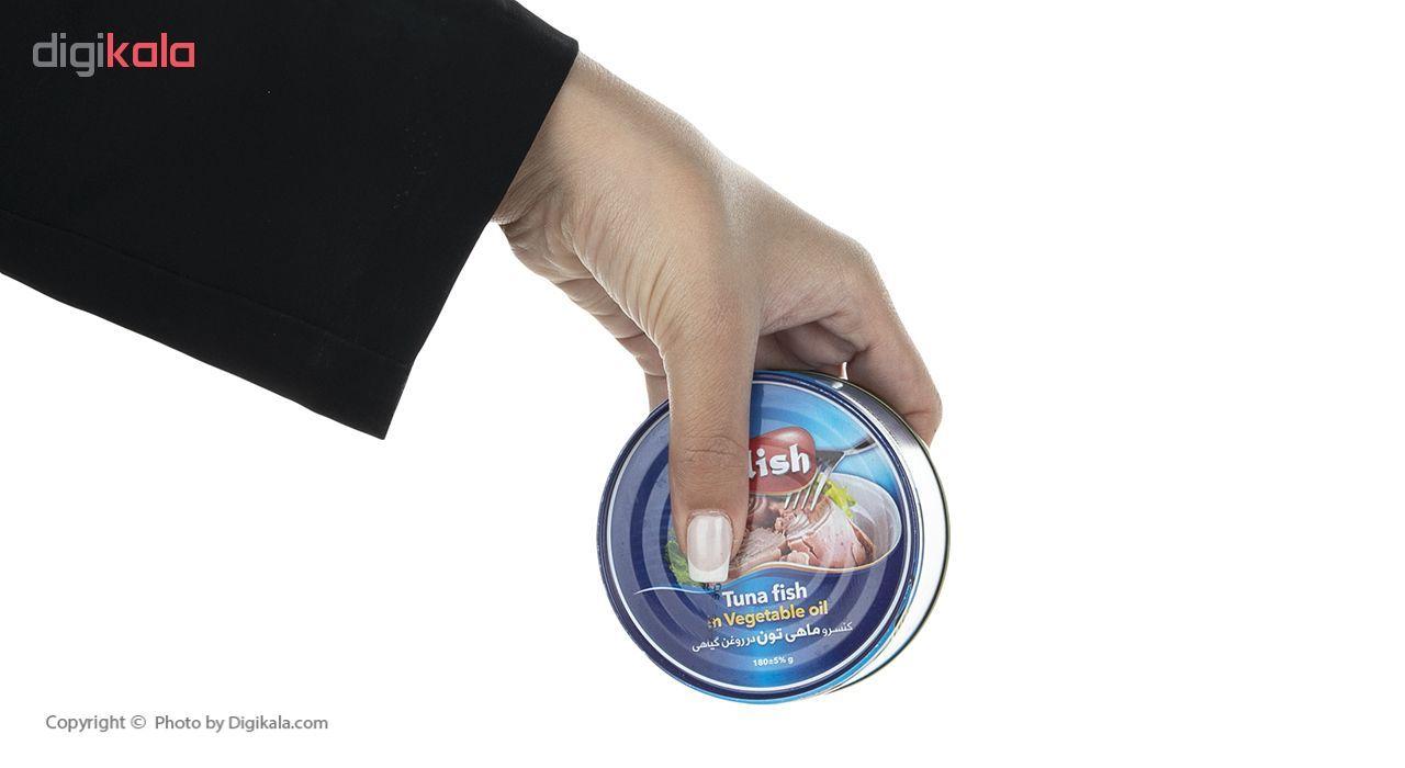 کنسرو ماهی تون در روغن گیاهی آلیش وزن 180 گرم main 1 7