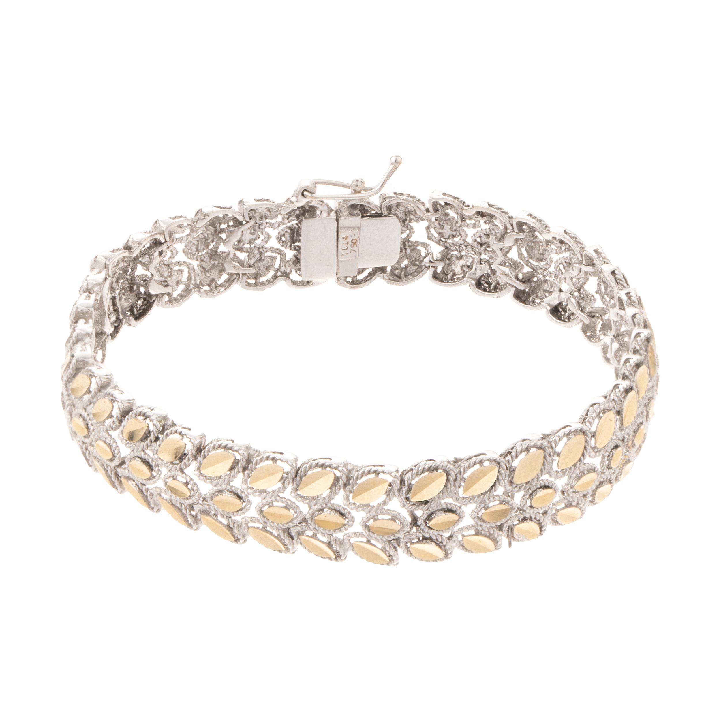 قیمت دستبند طلا 18 عیار زنانه کد 56542