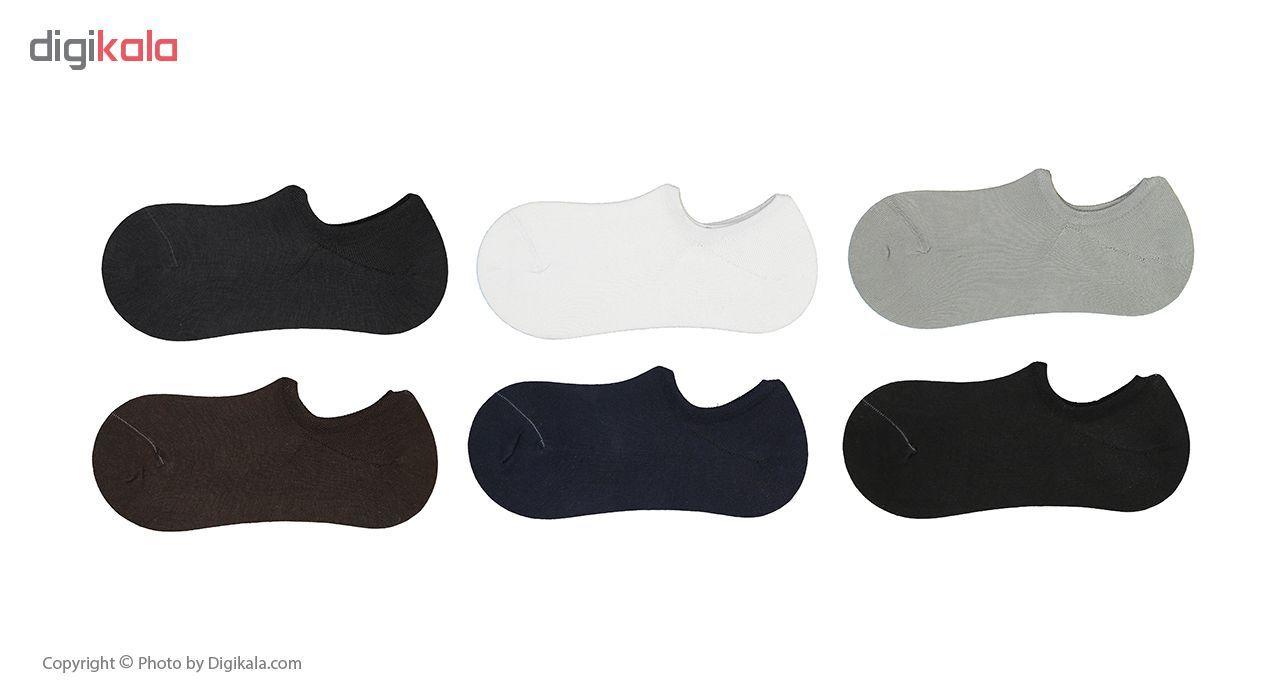 جوراب مردانه فرد مدل g.k.001 بسته 6 عددی main 1 1