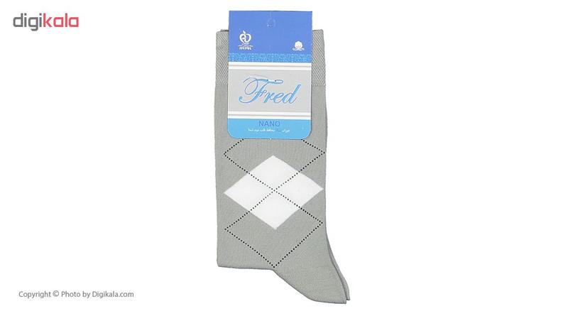 جوراب مردانه فرد مدل g.n.002 بسته 6 عددی