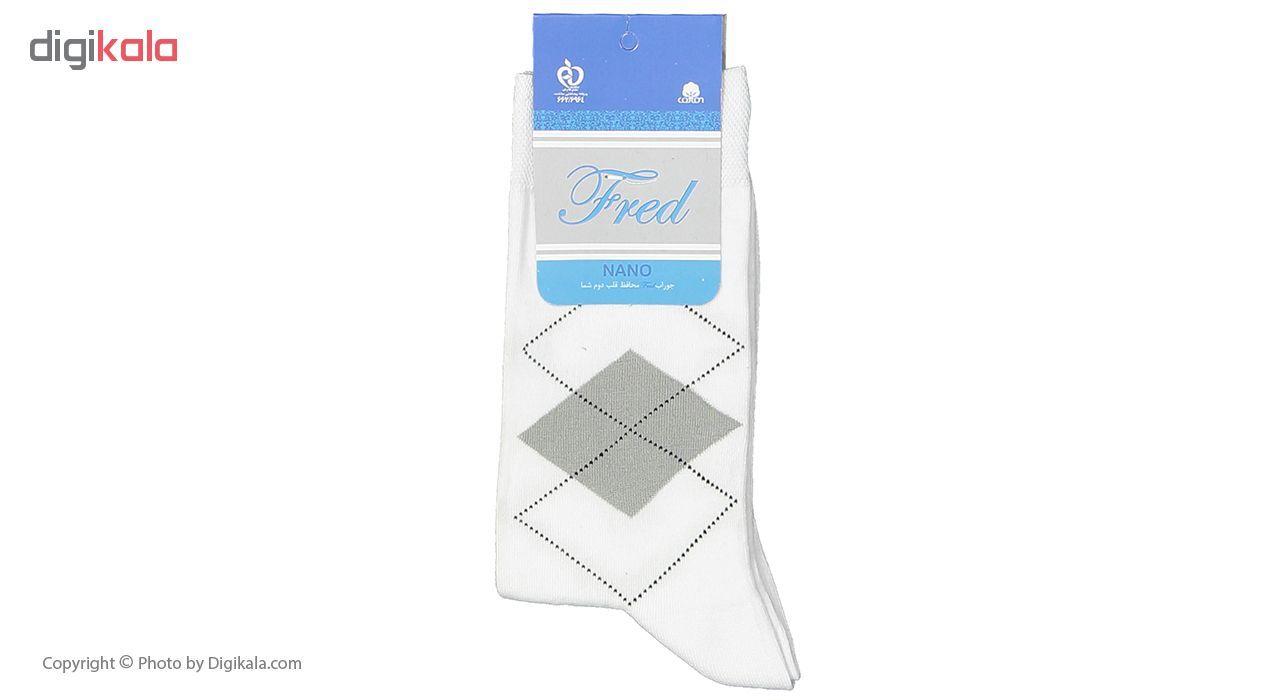 جوراب مردانه فرد مدل g.n.002 بسته 6 عددی main 1 4