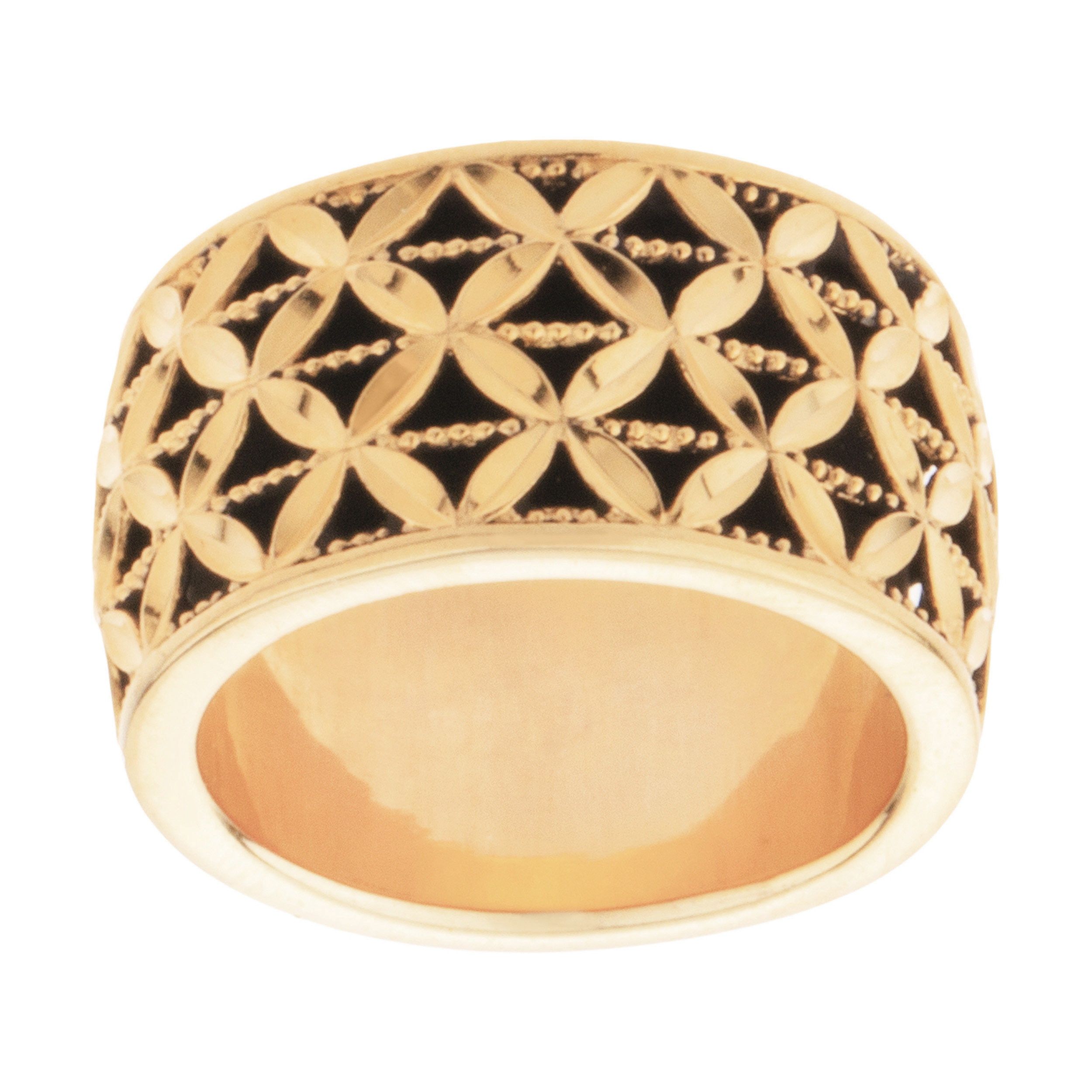 قیمت انگشتر طلا 18 عیار زنانه کد 19125