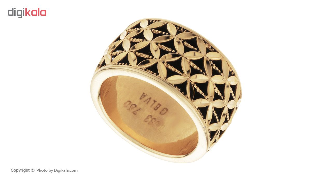 خرید                                      انگشتر طلا 18 عیار زنانه کد 19125