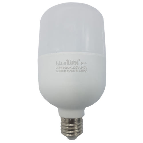 لامپ ال ای دی 20 وات بلو لوکس پلاس مدل T80 پایه E27