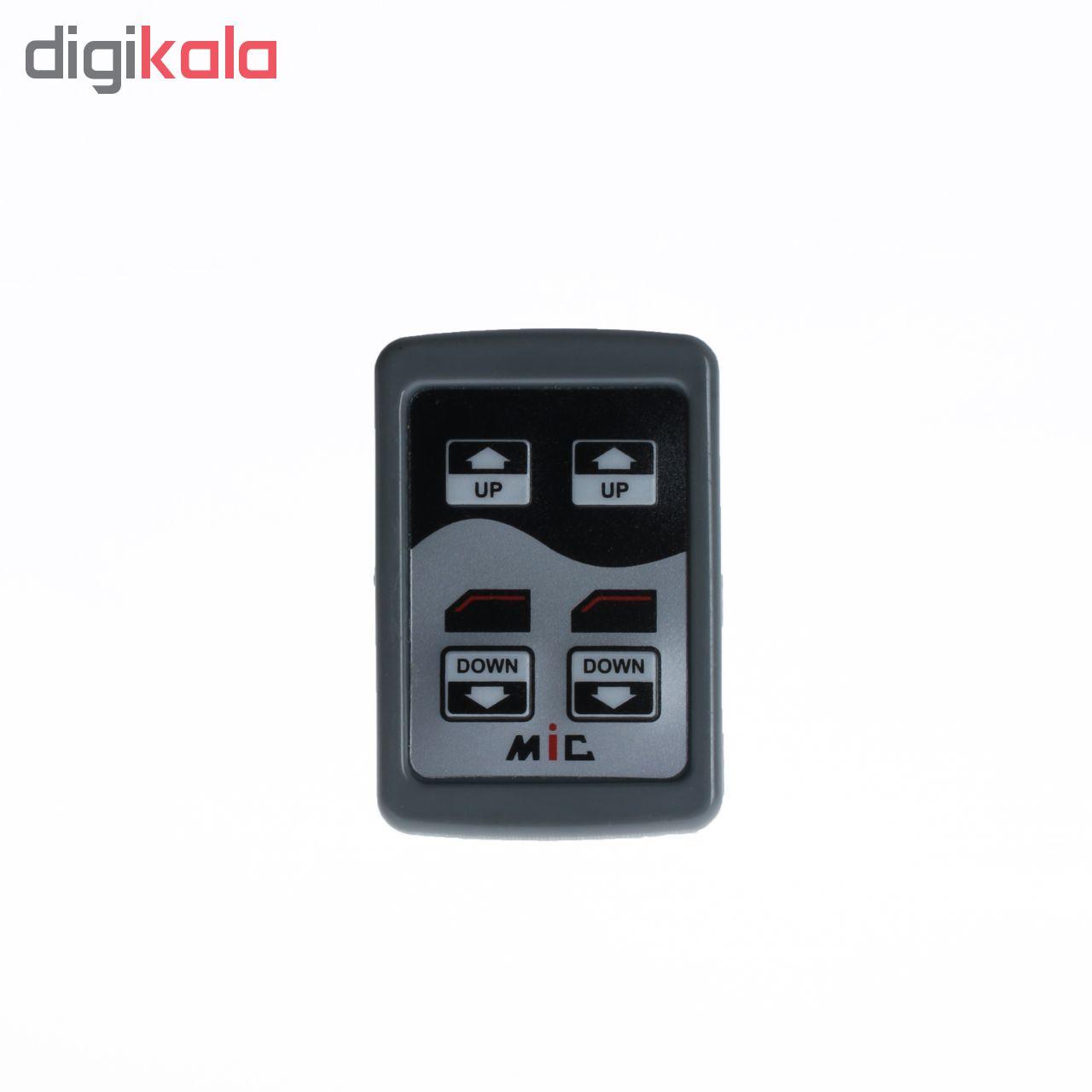 کلید شیشه بالابر خودرو ام آی سی مدل M04 مناسب برای پراید صبا مجموعه 2 عددی main 1 2