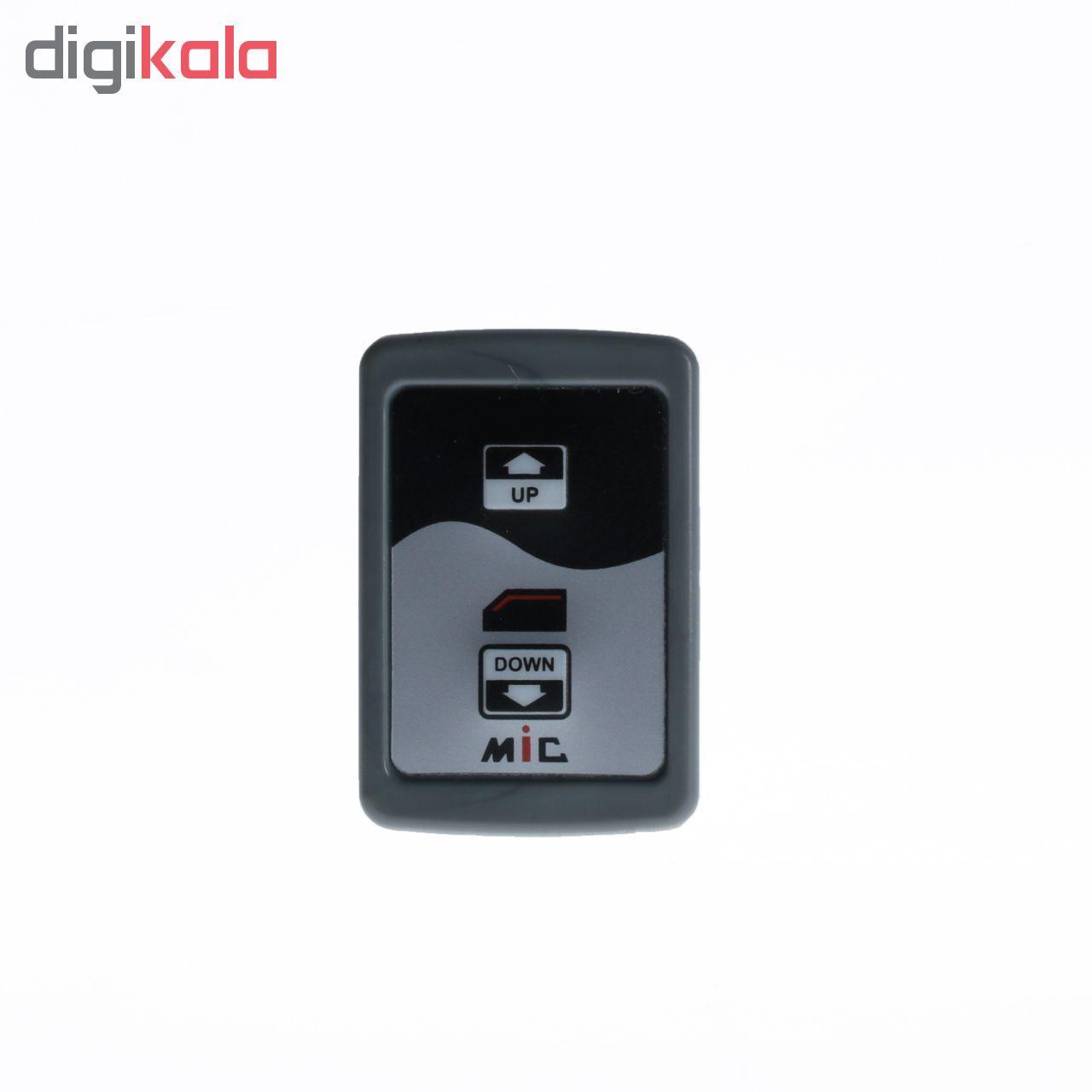 کلید شیشه بالابر خودرو ام آی سی مدل M04 مناسب برای پراید صبا مجموعه 2 عددی main 1 3
