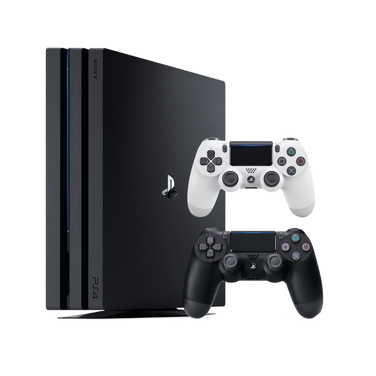 مجموعه کنسول بازی سونی مدل Playstation4Pro ریجن 2 کد CUH-7216B ظرفیت 1 ترابایت