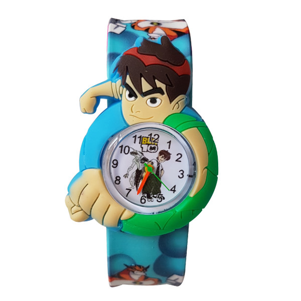 ساعت مچی عقربه ای پسرانه طرح بن تن کد ben-ab