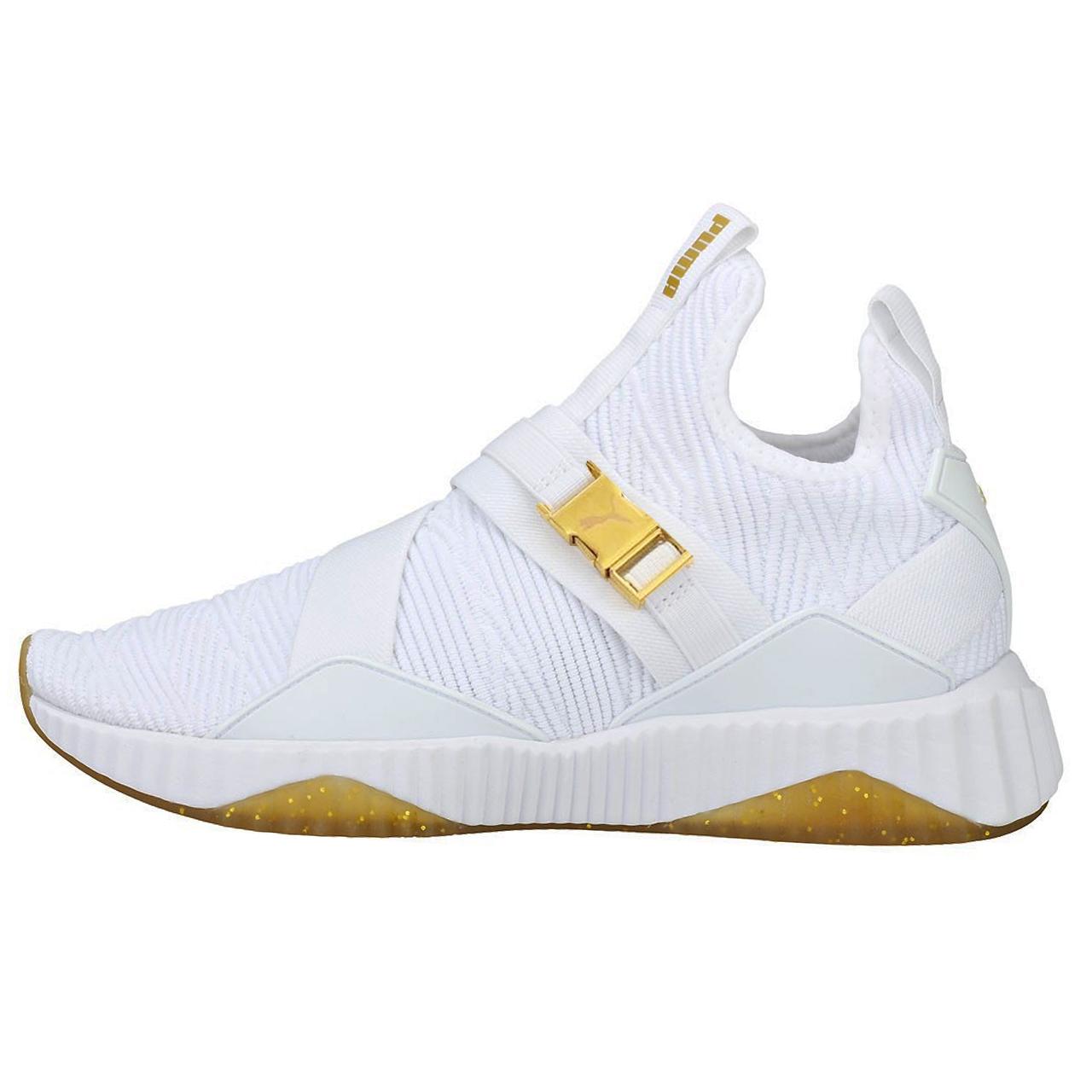 کفش راحتی مردانه پوما مدل  Defy Varsity Mid کد 560012