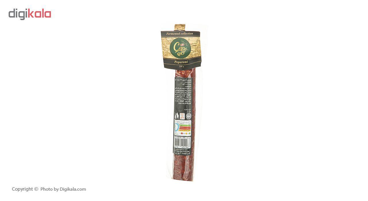 سوسیس تخمیری 97 درصد پپرونی کاپو کاله وزن 200 گرم main 1 4