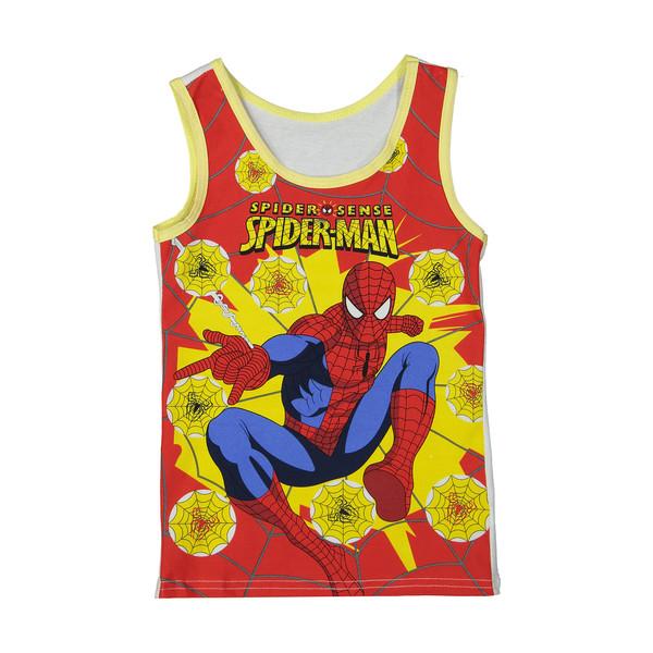 تاپ پسرانه طرح مرد عنکبوتی