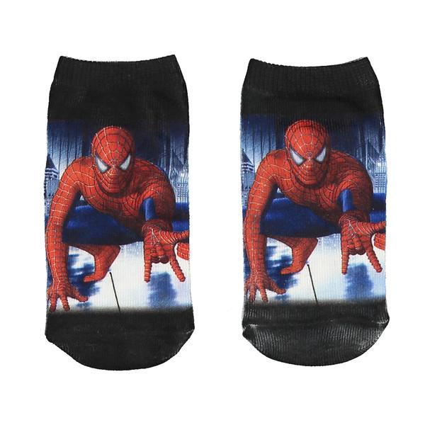 جوراب طرح مرد عنکبوتی