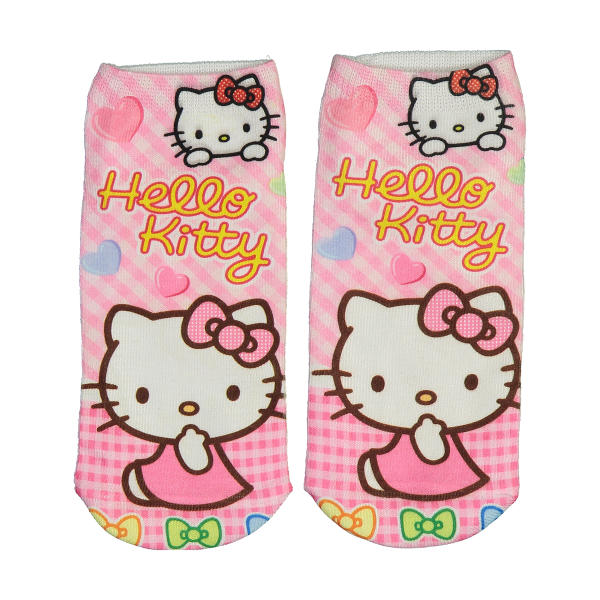 جوراب طرح Hello Kitty