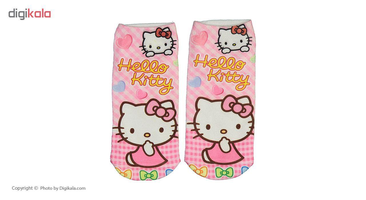 جوراب طرح Hello Kitty main 1 2